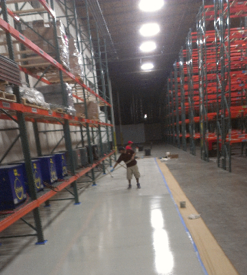 Inland Empire warehouse commercial building cleaning