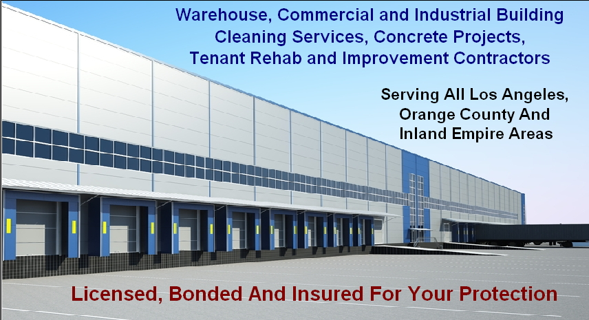 Orange County Warehouse Cleaning