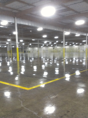 Los Angeles Concrete Floor Diamond Polishing