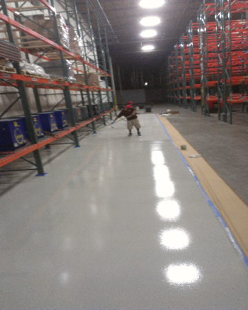 Orange County Concrete Floor Crack Repair
