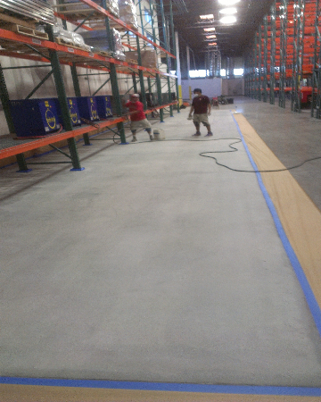 Orange County concrete flooring services