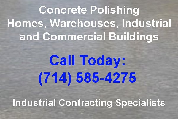 concrete polishing orange county